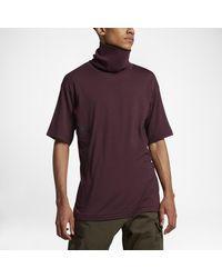 Nike Purple Lab Acg Men's Short Sleeve Top for men