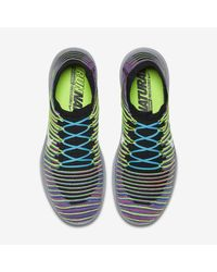 Nike Multicolor Free Rn Motion Flyknit for men