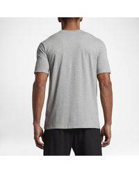 Nike Gray Dry Kyrie Graphic for men