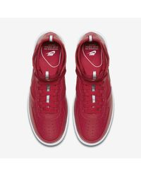 Nike Red Air Force 1 Ultraforce Mid