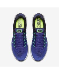 Nike Blue Air Zoom Pegasus 33 for men