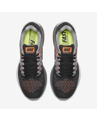 Nike Black Air Zoom Structure 20 for men