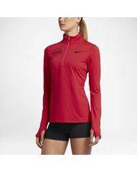 Lyst - Nike Dry Element (chicago 2016) Women s Half-zip Running Top ... 6cf1ebb34