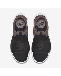 Nike Black Benassi Slip for men