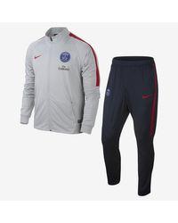 Nike Gray Paris Saint-germain Squad for men