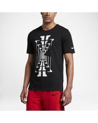 Nike Black Dry Kyrie Graphic for men