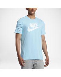 Nike Blue Sportswear Logo for men