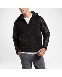 Nike Black Hurley Phantom Elite 2.0 Fleece Full-zip for men
