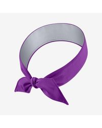 Nike Purple Court Headband