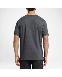 Nike Gray Hurley One And Only Push Through for men