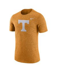 Nike | Orange College Marled Logo (tennessee) Men's T-shirt for Men | Lyst