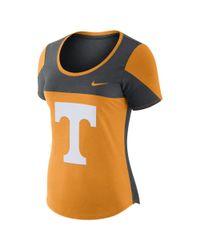 Nike | Orange College Scoop (tennessee) Women's T-shirt | Lyst