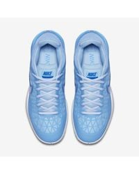 Nike Blue Court Zoom Cage 2 Clay