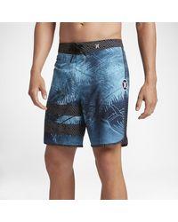 Nike Blue Hurley Phantom Block Party Niuolahiki for men