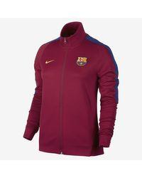 Nike Red Fc Barcelona Franchise for men