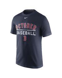 Nike October Baseball (mlb Red Sox) Men's T-shirt for men