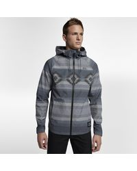 Nike Gray Hurley Protect Stretch Pendleton for men