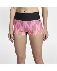 Nike Orange Hurley Surf Bula Damen-Boardshorts (ca. 5 cm)