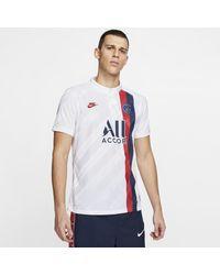 Maglia da calcio Paris Saint-Germain 2019/20 Vapor Match Third di Nike in White da Uomo