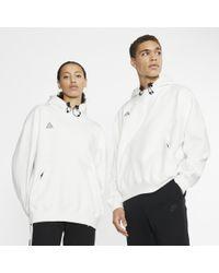 Nike White Acg Pullover Hoodie