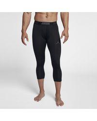 Collant de training 3/4 Jordan Dri-FIT 23 Alpha pour Nike pour homme en coloris Black