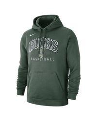 Nike Milwaukee Bucks NBA-Hoodie für in Green für Herren