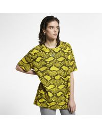Nike Yellow Sportswear Animal T-shirt