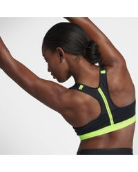 Nike Black Motion Adapt Women's High Support Sports Bra