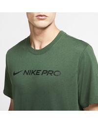 Nike Green Dri-fit Training T-shirt for men