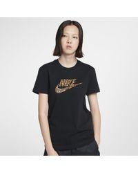 Nike Cotton Sportswear Animal Print T