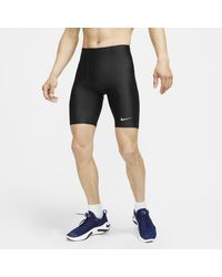 Nike Dri-FIT Fast 1/2-Lauftights in Black für Herren