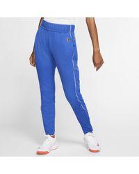 Pantaloni da tennis Court di Nike in Blue