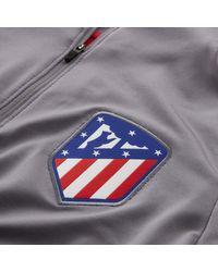 Nike Dri-FIT Atlético de Madrid Strike Drill-Fußballoberteil für in Gray für Herren