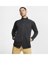 Nike Black Aeroshield Golf Jacket for men