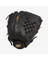 Nike Black Hyperdiamond Edge Softball Fielding Glove for men
