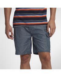 Short cargo Hurley Breathe 49 cm pour Homme di Nike in Blue da Uomo