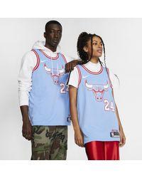 Nike Lauri Markkanen Bulls– City Edition NBA Swingman Trikot in Blue für Herren