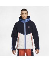 Giacca Sportswear Heritage di Nike in Blue da Uomo