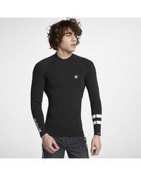 Muta Hurley Advantage Plus 1/1MM Jacket di Hurley in Black da Uomo