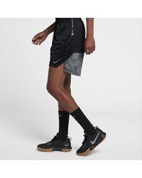 Nike Black Elite Knit Basketball Shorts