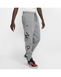 Jordan Why Not? Pantalon en tissu Fleece pour Nike pour homme en coloris Gray