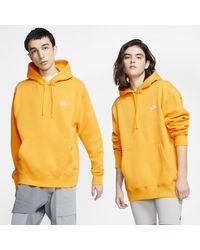 Nike Sportswear Club Fleece Hoodie in Metallic für Herren