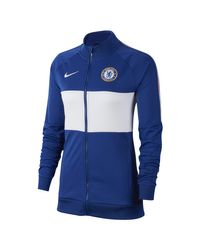 Giacca Chelsea FC di Nike in Blue