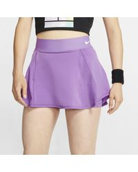 Gonna da tennis Court di Nike in Purple