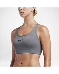 Nike Gray Pro Classic Swoosh Women