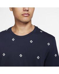 T-shirt da skateboard stampata SB di Nike in Blue da Uomo