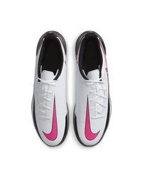 Nike White Phantom GT Club IC Fußballschuh für Hallen- und Hartplätze