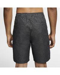 Short cargo Hurley Breathe 49 cm pour Homme di Nike in Black da Uomo