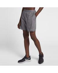 Nike Gray Flex Stride Running Shorts for men