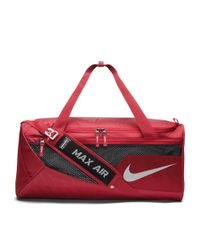 c8a3e11d8791 Lyst - Nike College Vapor (alabama) Duffel Bag (red) in Red for Men